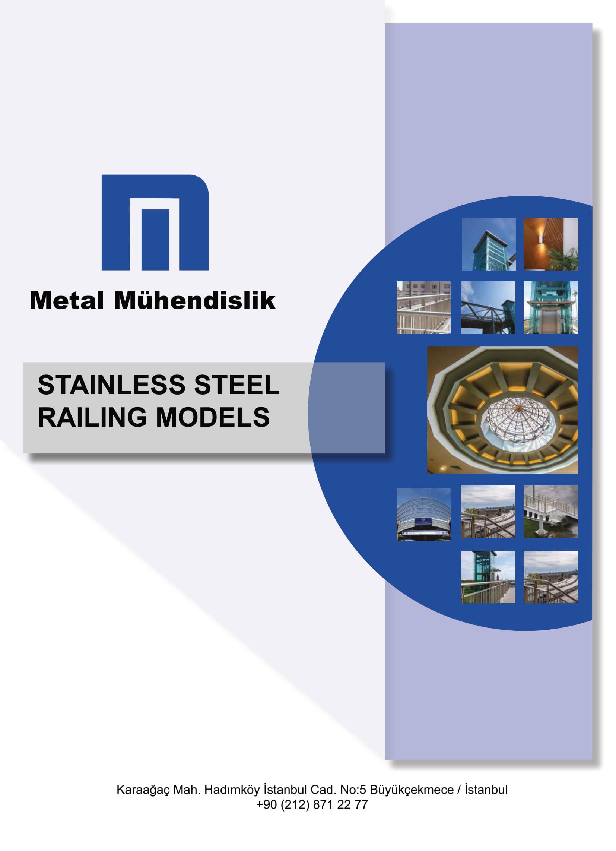 STAINLESS STEEL RAILING MODELS