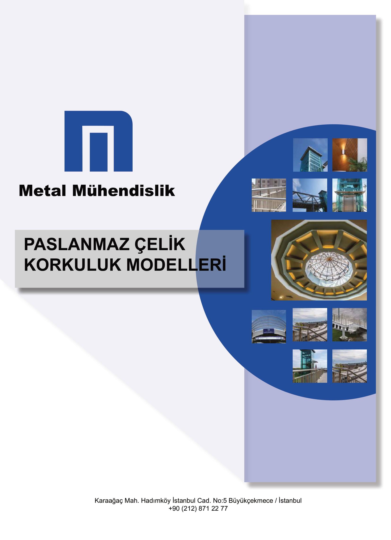 Paslanmaz Çelik Korkuluk Modelleri