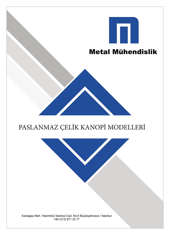 Paslanmaz Çelik Kanopi Modelleri